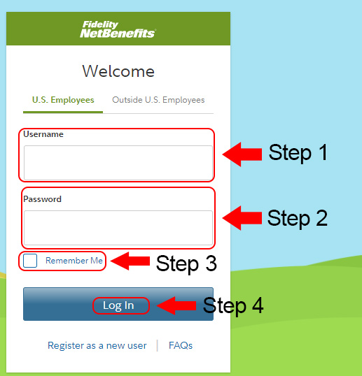 fidelity net benefits login
